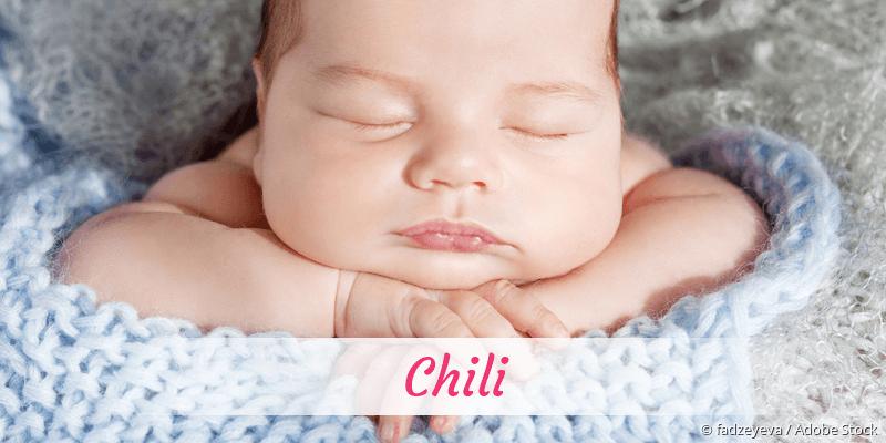 Name Chili als Bild