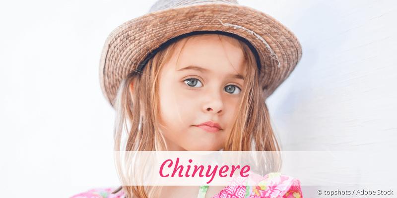 Name Chinyere als Bild
