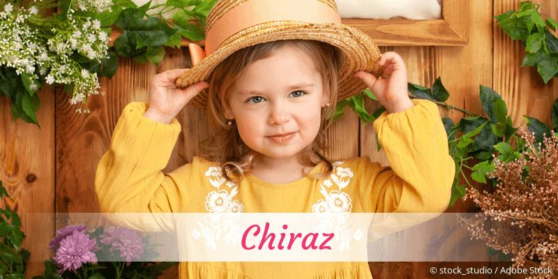 Name Chiraz als Bild