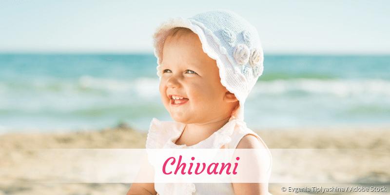 Name Chivani als Bild