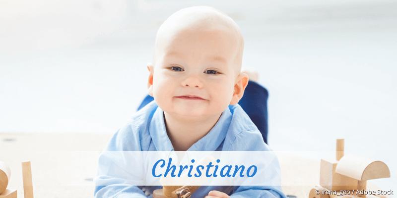 Name Christiano als Bild
