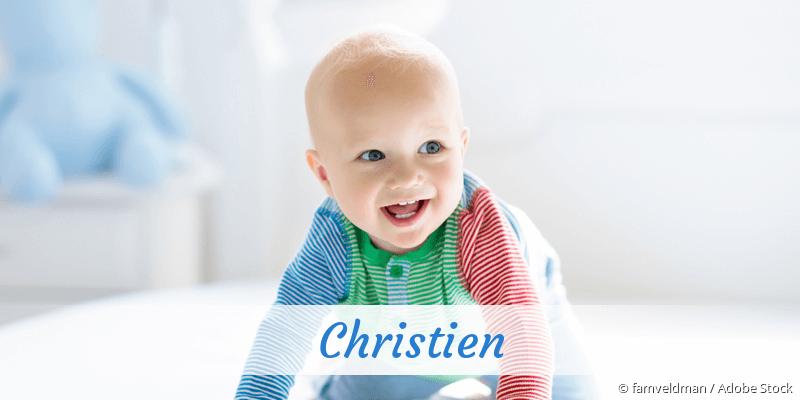Name Christien als Bild