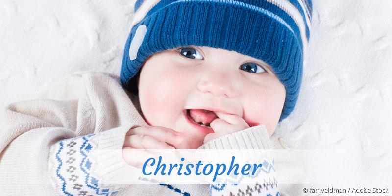 Name Christopher als Bild