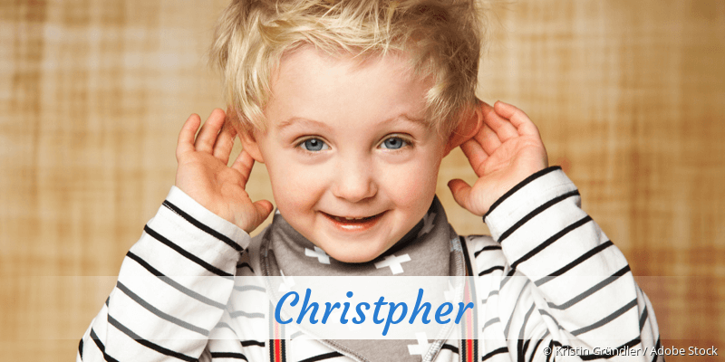 Name Christpher als Bild