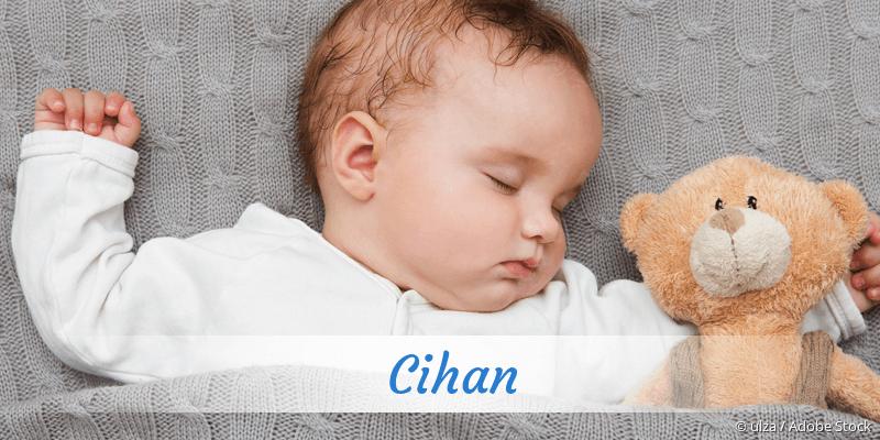 Name Cihan als Bild