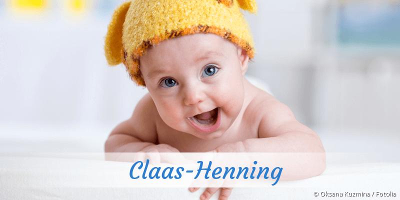 Name Claas-Henning als Bild