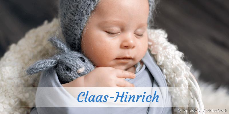Name Claas-Hinrich als Bild