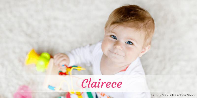 Name Clairece als Bild
