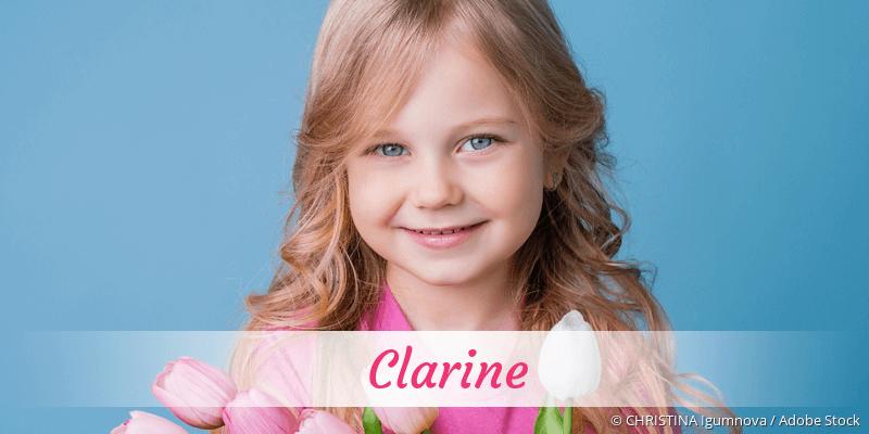 Name Clarine als Bild