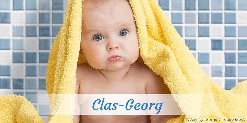 Name Clas-Georg als Bild