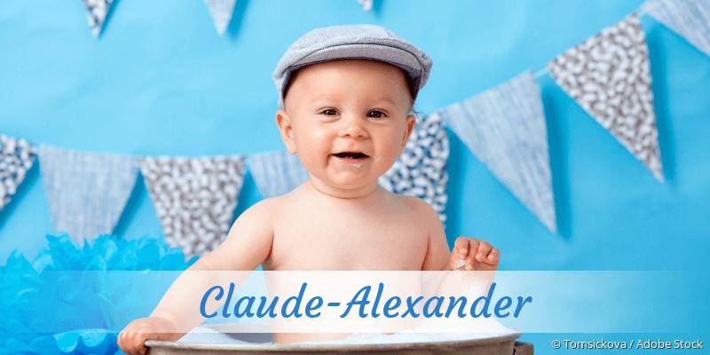 Name Claude-Alexander als Bild