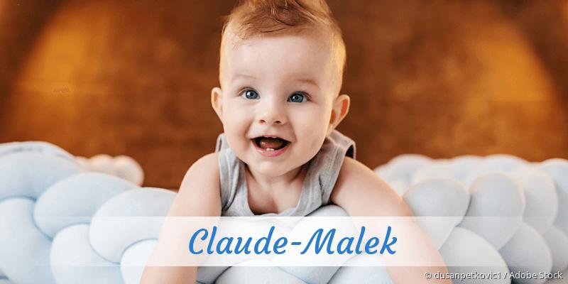 Name Claude-Malek als Bild