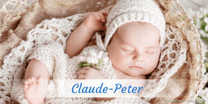 Name Claude-Peter als Bild