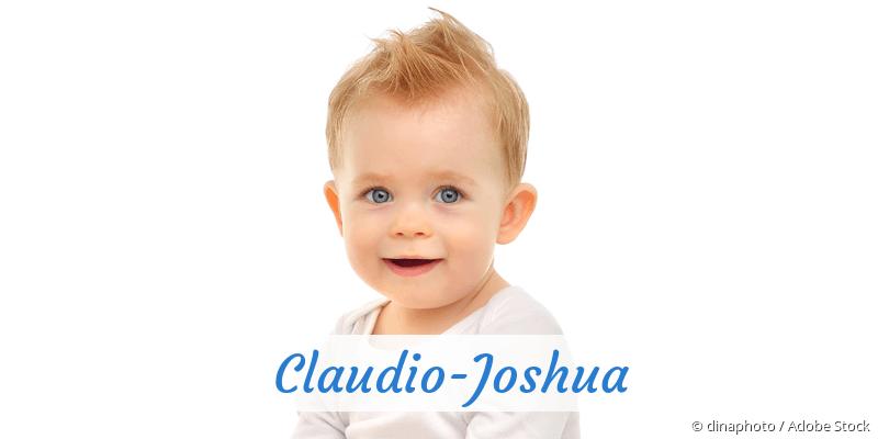 Name Claudio-Joshua als Bild