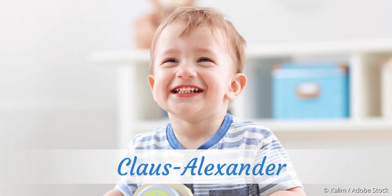 Name Claus-Alexander als Bild