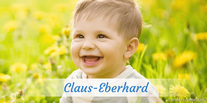 Name Claus-Eberhard als Bild