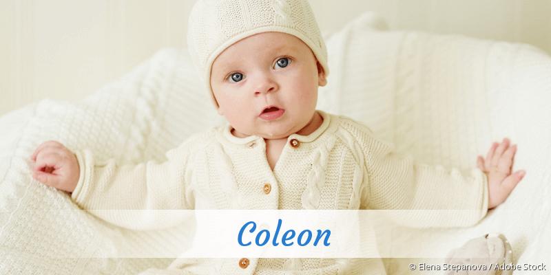 Name Coleon als Bild