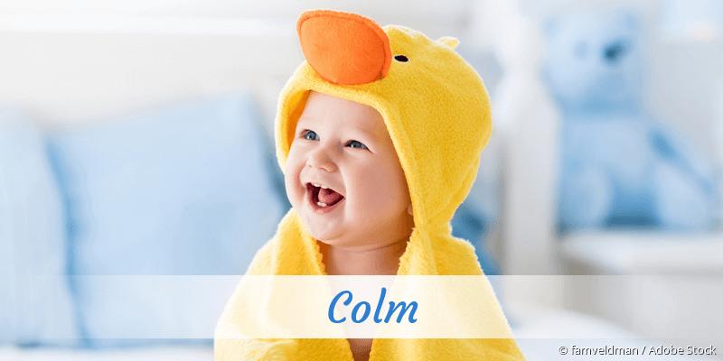 Name Colm als Bild