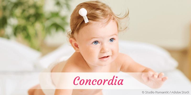 Name Concordia als Bild