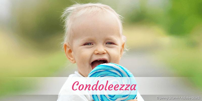 Name Condoleezza als Bild