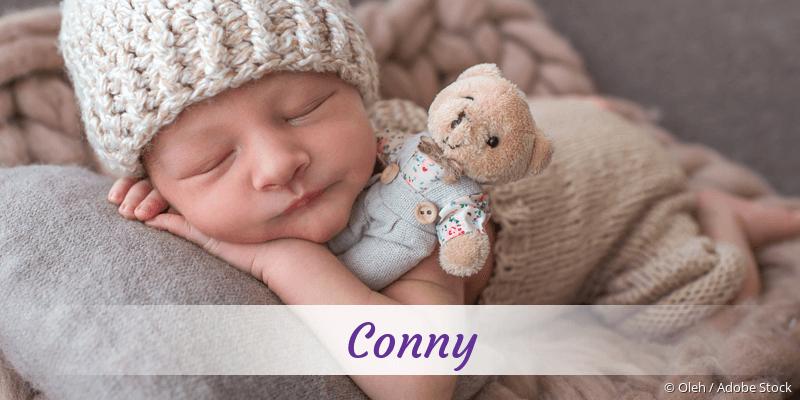 Name Conny als Bild