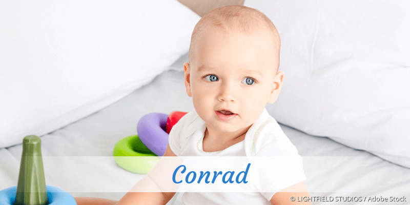 Name Conrad als Bild