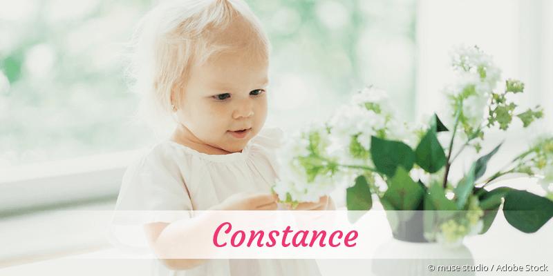 Name Constance als Bild