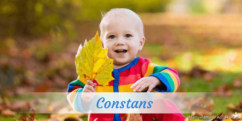 Name Constans als Bild
