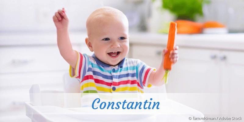 Name Constantin als Bild