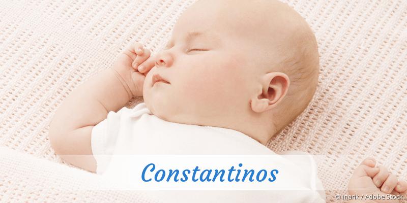 Name Constantinos als Bild