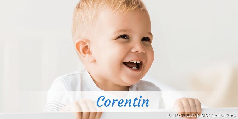 Name Corentin als Bild
