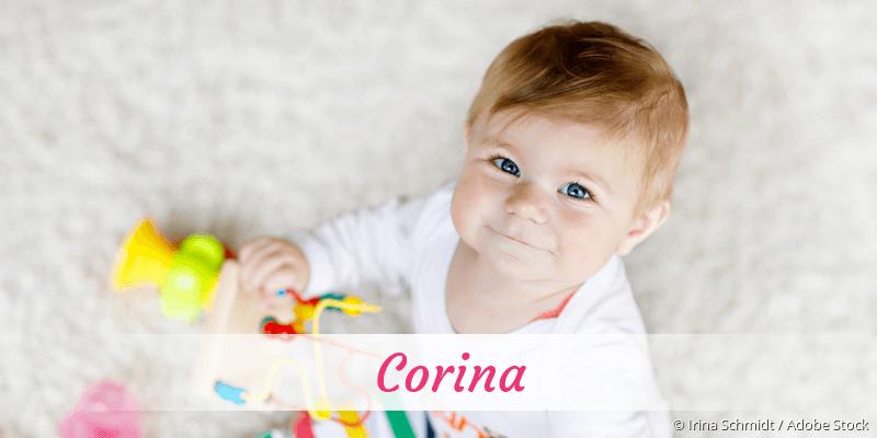 Name Corina als Bild