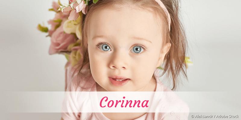 Name Corinna als Bild