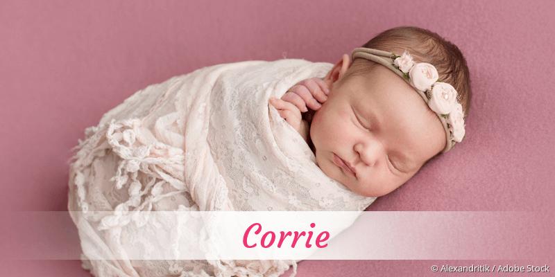Name Corrie als Bild