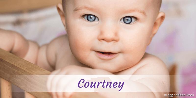 Name Courtney als Bild