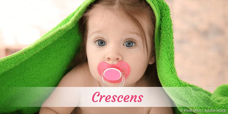Name Crescens als Bild