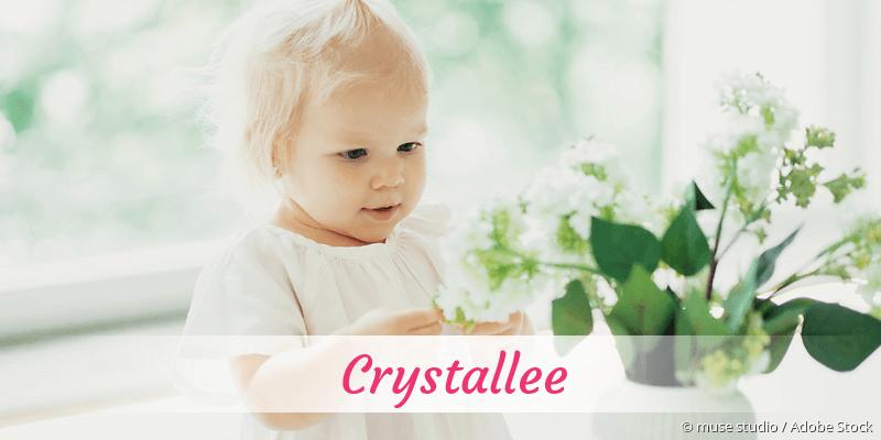 Name Crystallee als Bild