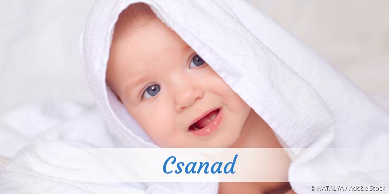 Name Csanad als Bild