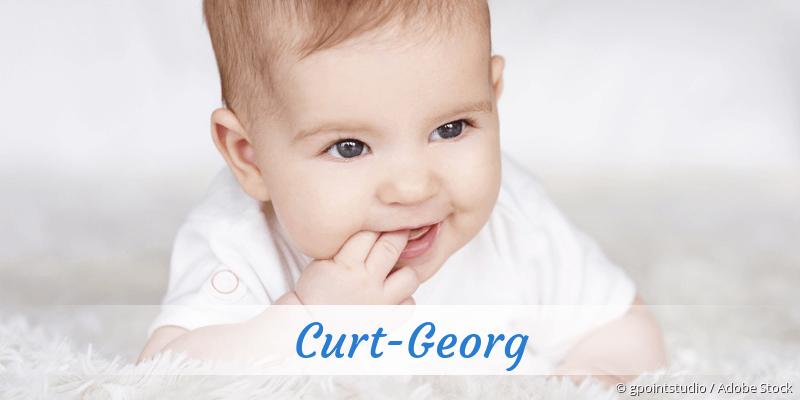 Name Curt-Georg als Bild