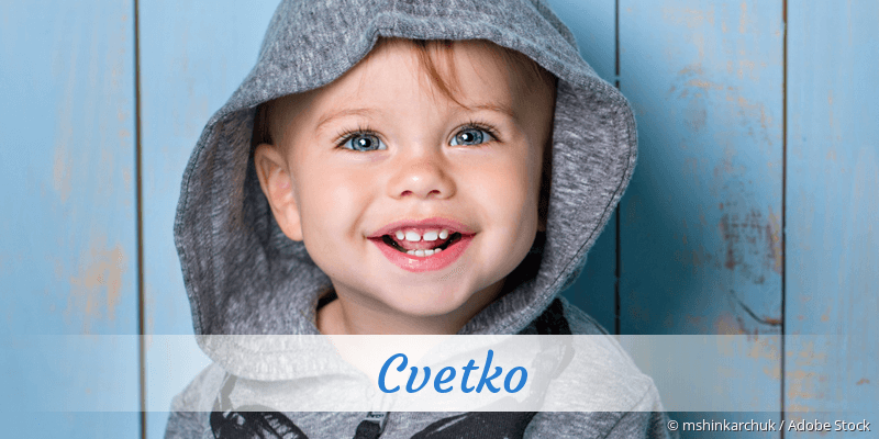 Name Cvetko als Bild