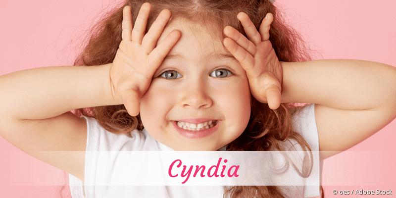 Name Cyndia als Bild