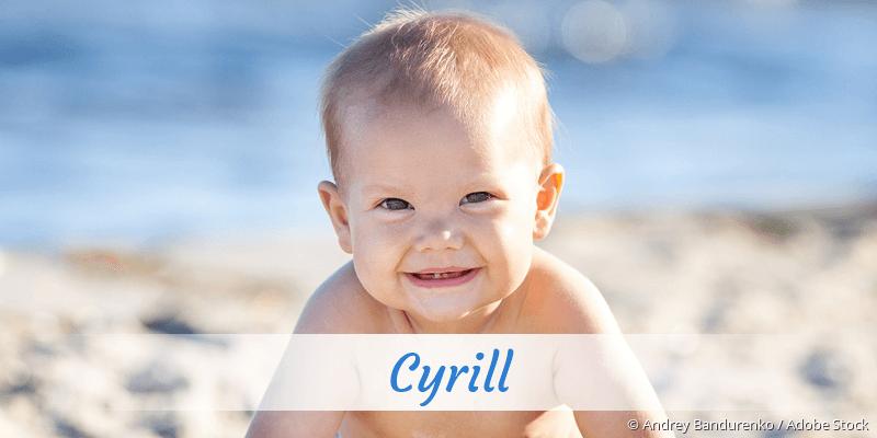 Name Cyrill als Bild