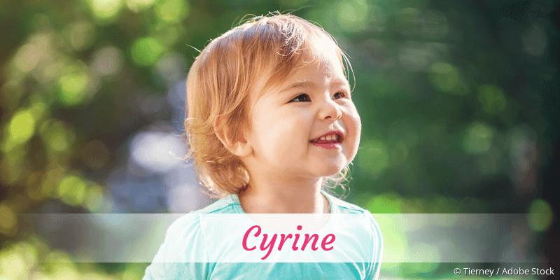 Name Cyrine als Bild