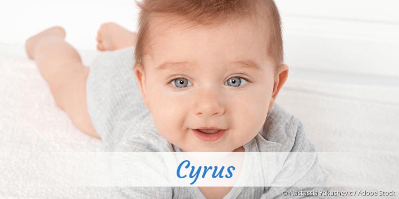 Name Cyrus als Bild