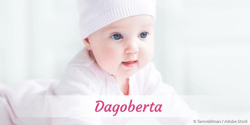 Name Dagoberta als Bild