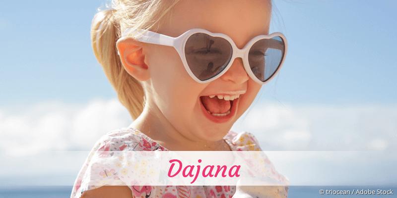 Name Dajana als Bild