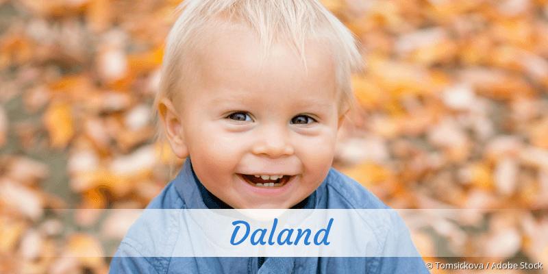 Name Daland als Bild