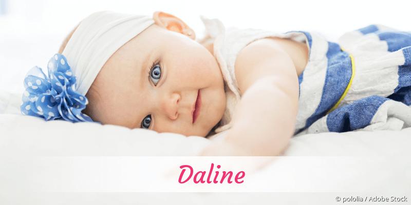 Name Daline als Bild