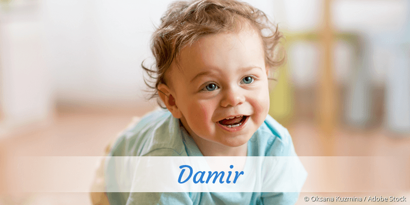 Name Damir als Bild