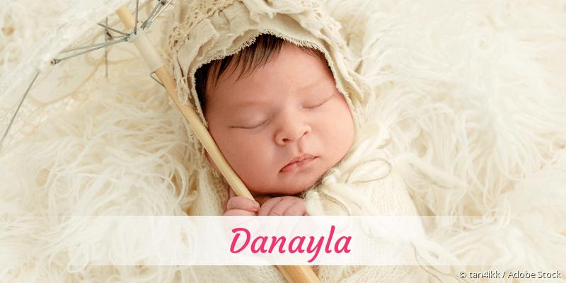 Name Danayla als Bild